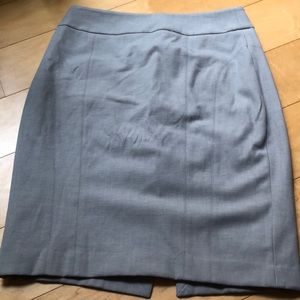 Gray Work Skirt